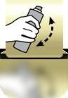 Spray schütteln - ES