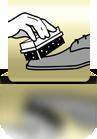 1-2-3 Glanz mit Schwamm auftragen - ES